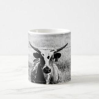 Young Longhorn Coffee Mug