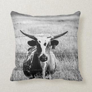 Young Longhorn Cushion
