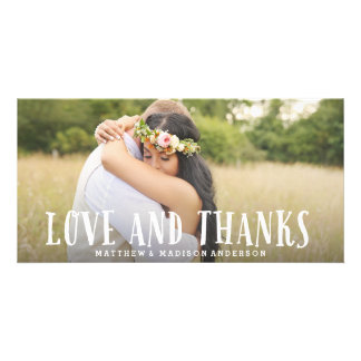 Young Love | Wedding Thank You Photo Card