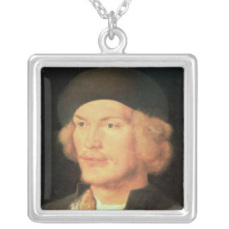 Young Man, 1507 Silver Plated Necklace