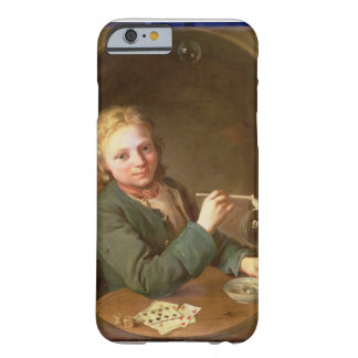 Young Man Blowing Bubbles from a Clay Pipe, 1766 Barely There iPhone 6 Case