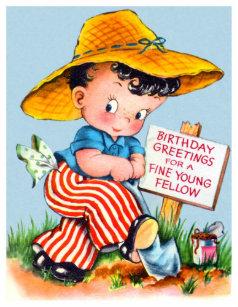 Wishes Vintage Birthday Cards Zazzle Uk