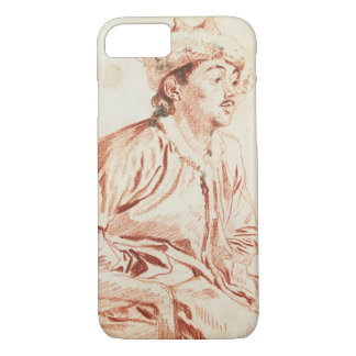 Young Man in Oriental Costume (drawing) iPhone 8/7 Case