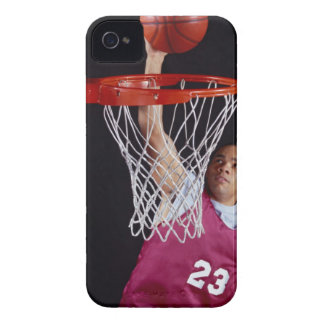 Young Man Making a Basket iPhone 4 Covers