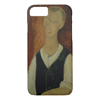 Young Man with a Black Waistcoat, 1912 (oil on can iPhone 8/7 Case