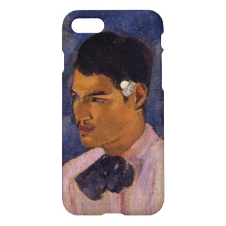 'Young Man With a Flower' - Paul Gauguin iPhone 8/7 Case