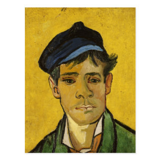 Young Man with a Hat 1888 Postcards