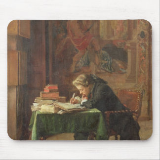 Young Man Writing, 1852 Mouse Pad