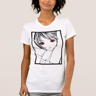 Young Manga Schoolgirl Pinup Art of Children T-Shirt