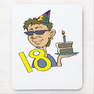 Young Man's 18th Birthday Gifts Mouse Mat