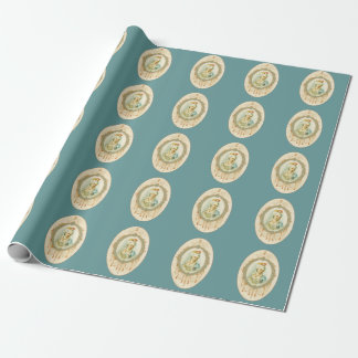 Young Marie Antoinette Wrapping Paper