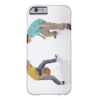 Young men playing basketball barely there iPhone 6 case