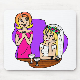 Young Mother of the Bride Mouse Mat
