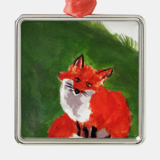 Young Mr. Fox Christmas Ornament