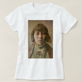 Young Native American Girl 1904 Shirts