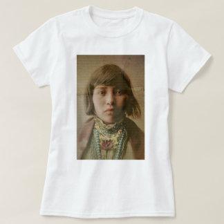 Young Native American Girl 1904 T-Shirt