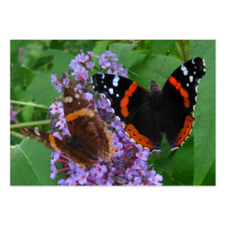 Young Old butterfly ATC Business Cards