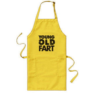 Young Old Fart Long Apron