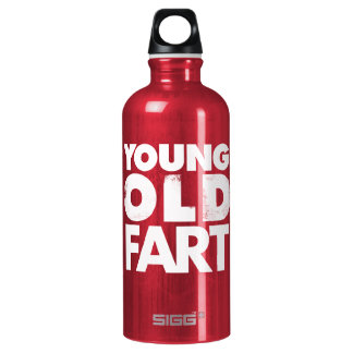 Young Old Fart T-Shirt SIGG Traveller 0.6L Water Bottle