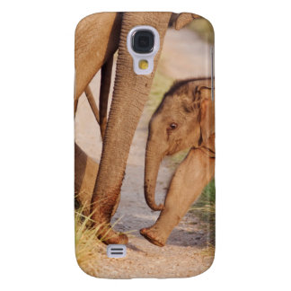 Young one of Indian Asian Elephant Galaxy S4 Case