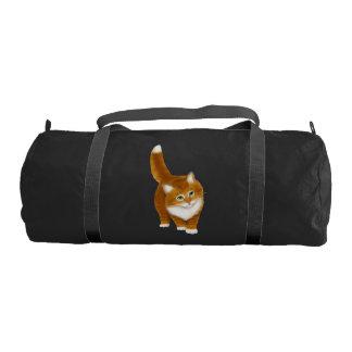Young Orange Tabby Cat Duffel Bag Gym Duffel Bag