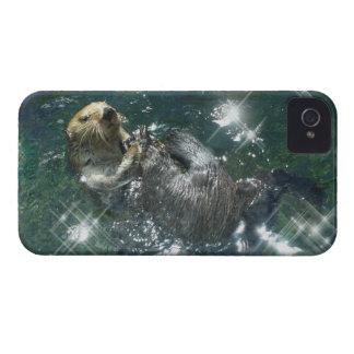 Young Otter Wildlife Art Animal Electronics Case iPhone 4 Case