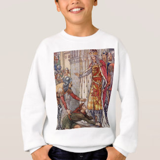 Young Owen appeals to King Arthur Sweatshirt