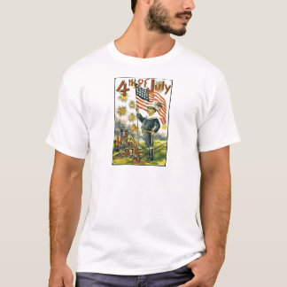Young Patriot on the 4th of July T-Shirt