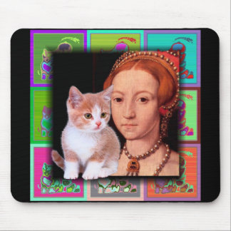 Young Princess Elizabeth I Portrait 3 Mouse Pad