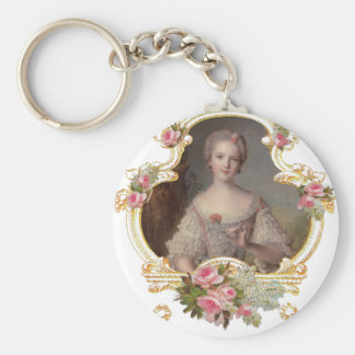 Young Princess Louise Marie of France Keychain