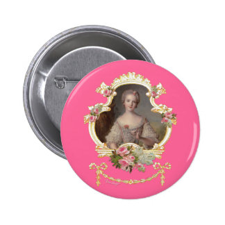 Young Princess Marie Antoinette 6 Cm Round Badge