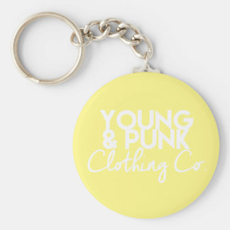 YOUNG&PUNK Clothing Co. Key Jewelry Key Ring