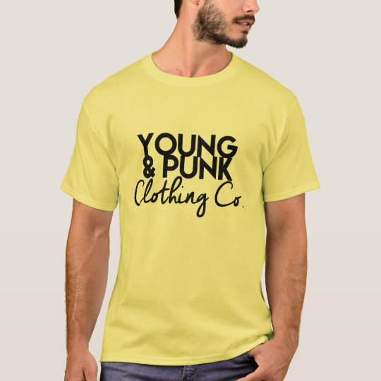"YOUNG&PUNK's ""You Ain't Yella to Wear Yellow"" T-Shirt"