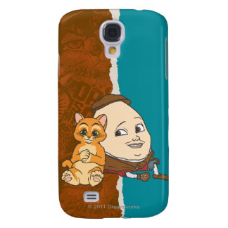 Young Puss & Humpty Galaxy S4 Case