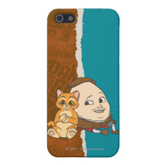 Young Puss & Humpty iPhone 5 Case