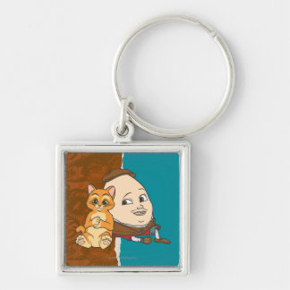 Young Puss & Humpty Key Ring