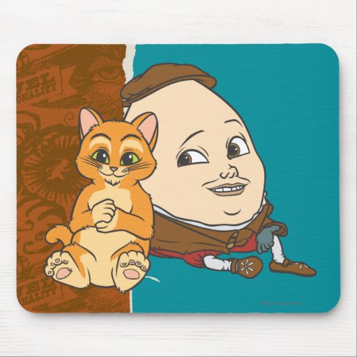 Young Puss & Humpty Mousepads