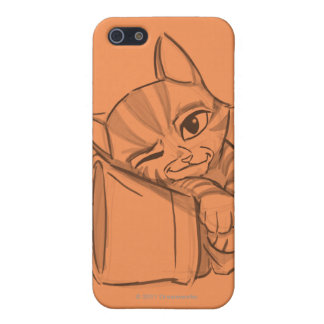 Young Puss In Boots Cover For iPhone 5/5S