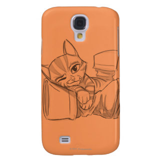Young Puss In Boots Galaxy S4 Case