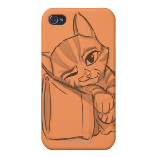 Young Puss In Boots iPhone 4/4S Cover