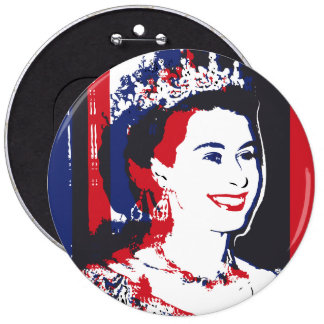 Young Queen Elizabeth ı button