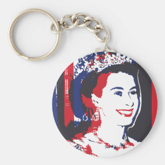 Young Queen Elizabeth II ı Key chain