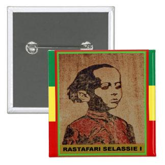 Young Ras, Young Haile Selassie I, Jah Rastafari Button