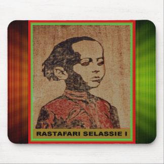 Young Ras, Young Haile Selassie I, Jah Rastafari Mouse Pads