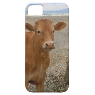 Young Red Heifer Cow iPhone 5 Case