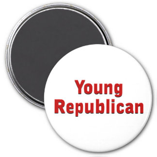 Young Republican 7.5 Cm Round Magnet