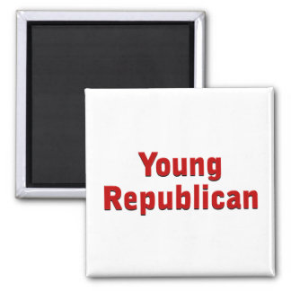 Young Republican Square Magnet