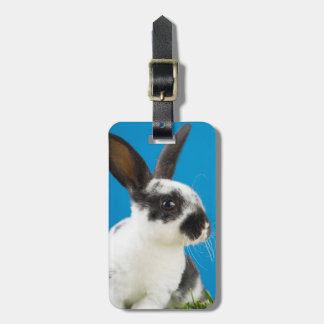 Young Rex rabbit Luggage Tag