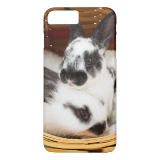 Young Rex rabbits in Easter basket 2 iPhone 8 Plus/7 Plus Case