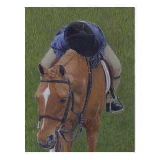 Young Rider & Pony Postcard
